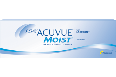 Acuvue 1-DAY ACUVUE MOIST 30-pack: +3.75, 8.5